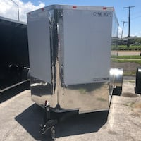 2018 6x12 SA enclosed trailer Cynergy Cargo ramp Tampa, 33611