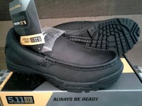 New Men's 5.11 Tactical Slip On Shoes, Black
