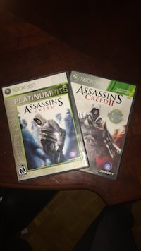 Assassins Creed 1&2 for Xbox 360 Mississauga, L5E 1G5