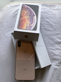 iPhone XS Max 64GB  Unlocked for sale. Comes with the box + Case