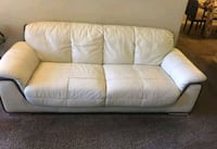 Leather Couches - White / Off white  Las Vegas, 89106