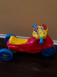 toddler's red and blue ride on toy Pflugerville, 78664