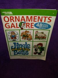 NEW LEISURE ARTS ORNAMENTS GALORE BK V2-48 DESIGNS Omaha, 68117