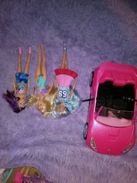 barbies and babies sports car!!!!