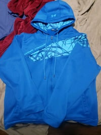 2XL Under Armour zip up hoodie