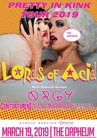 LORDS OF ACID CONCERT Tampa, 33605