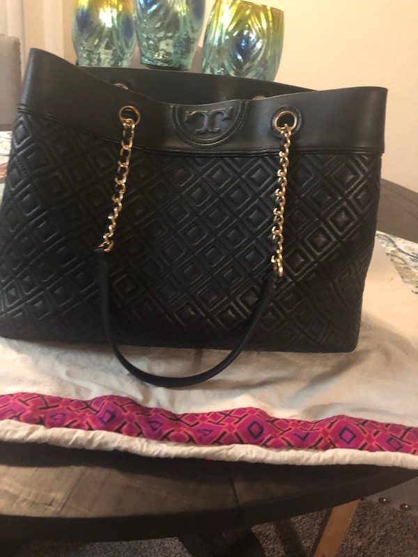 80279965521fd Used Tory Burch Fleming Triple Compartment Tote for sale in Jacksonville -  letgo