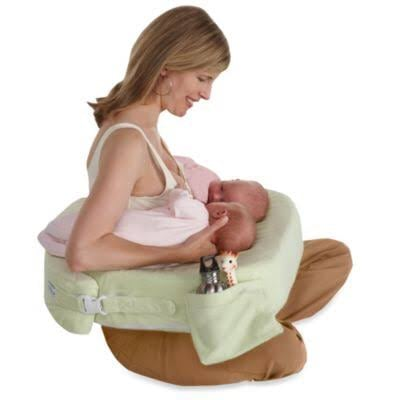 BRAND NEW My Brest Friend Deluxe Twin Nursing Pillow and Cover