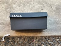 MAILBOX, PLASTIC WALL MOUNT, GOOD CONDITION, $4 CASH