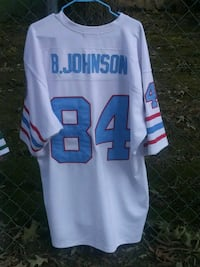 white and blue Manning 18 jersey shirt Holly Springs, 27540