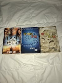I Am Number Four (3 books) Herndon, 20171