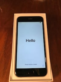 Space gray iphone 6, 64 gb with box