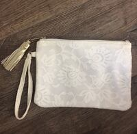 Lace wristlet with gold tassel Niceville, 32578