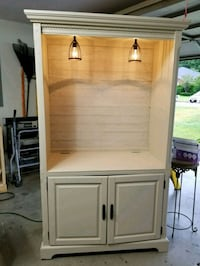 white wooden cabinet with hutch Whitehouse, 75791