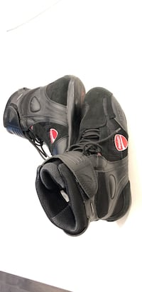 Tcx motorcycle boots special edition Ducati