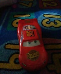 red the cars diecast car toy 790 mi