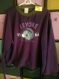 Eeyore sweatshirt ( large  Johnson Creek, 53038