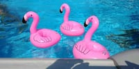 Flamingo Floating Coasters. Toronto, M8Z 2A2