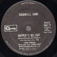 RAPPER'S DELIGHT - SUGAR HILL  GANG WHITBY
