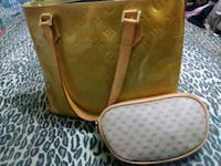 Louis vutton vernis handbag and gucci cosmetic bag Spring, 77379