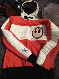 Star Wars X wing fighter jacket sz M