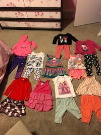 2T girl clothing