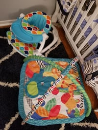 baby's blue and green activity gym Brampton, L6Z 1G3