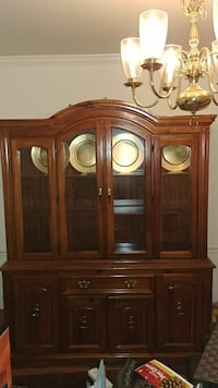 brown wooden display cabinet Laurel, 20723