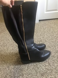 Brown Nine West boots