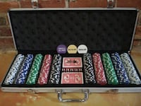 Professional poker set brand new St. Catharines, L2R 3M2