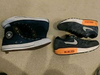 Converse $30 & Nike Air Max $30 or $50 for both   Raleigh, 27603