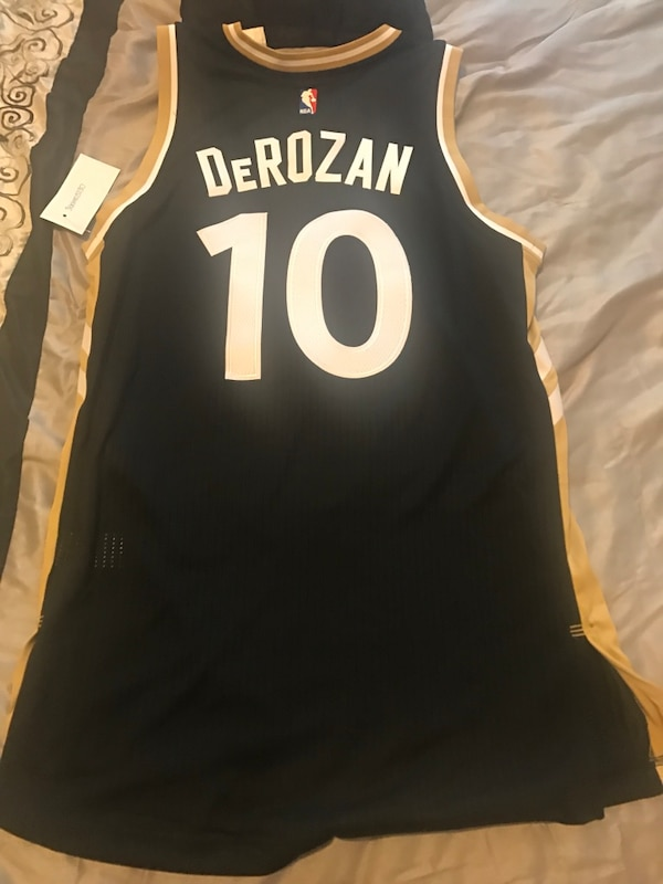 38b57bda Used Authentic Limited Edition NBA OVO DeRozan 10 jersey for sale in ...