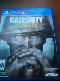 PS4 Call of Duty WWII case Fresno, 93702