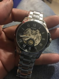 Men's fossil stainless automatic watch  $140 retail $280 Winnipeg, R3E 2Z5