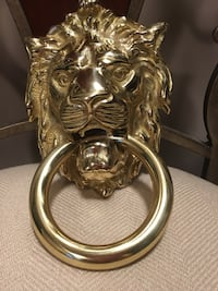 NEW BRASS LION HEAD DOOR KNOCKER  Bowie, 20715