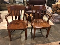 2 Antique solid wood chairs  Annapolis, 21409