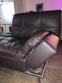 DOUBLE BED/FUTON (chocolate brown)