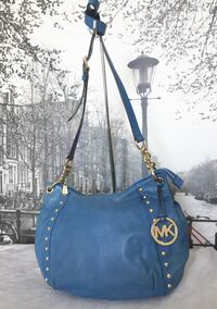 Michael Kors Blue Leather Bag Burnaby, V5C 2J9