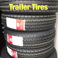 NEW trailer tires size 14, 15, 16 inch  Houston, 77047