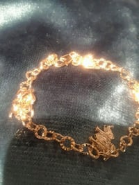 gold-colored chain bracelet Plano, 75023
