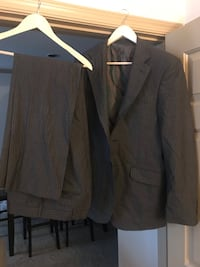 Grey and brown French Eye men's suit. Hyattsville, 20785