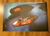 Chevy Cruise hatch vinyl poster