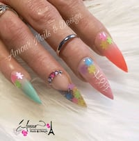 Nails, Acrylic,  Gel, Polygel and Dip available  Bristol