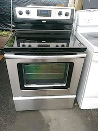 glass top Stove stainless steel black  Plant City, 33563