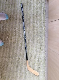 black and brown sher wood hockey stick 3159 km