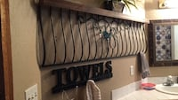 brown wooden headboard and footboard New Smyrna Beach, 32168