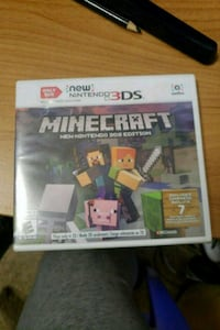 Minecraft Xbox One game case Harrisburg