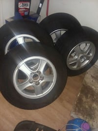 Set of 4 tires with Rims in great condition