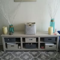 White Television Stand up to 70inch Clermont