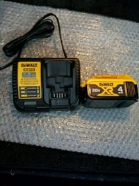New dewalt 20v XR battery and charger  Chantilly